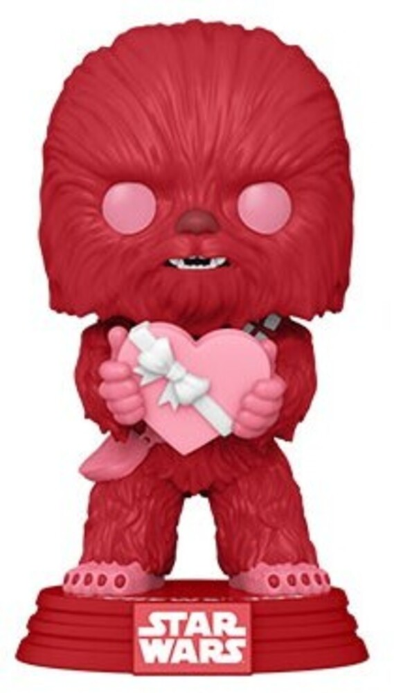 Funko Pop! Star Wars: - FUNKO POP! STAR WARS: Valentines- Cupid Chewbacca