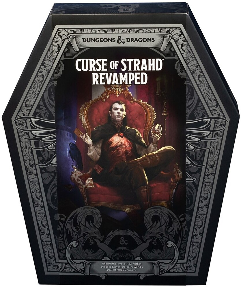 - Curse of Strahd: Revamped Premium Edition Boxed Set (Dungeons &Dragons, D&D)