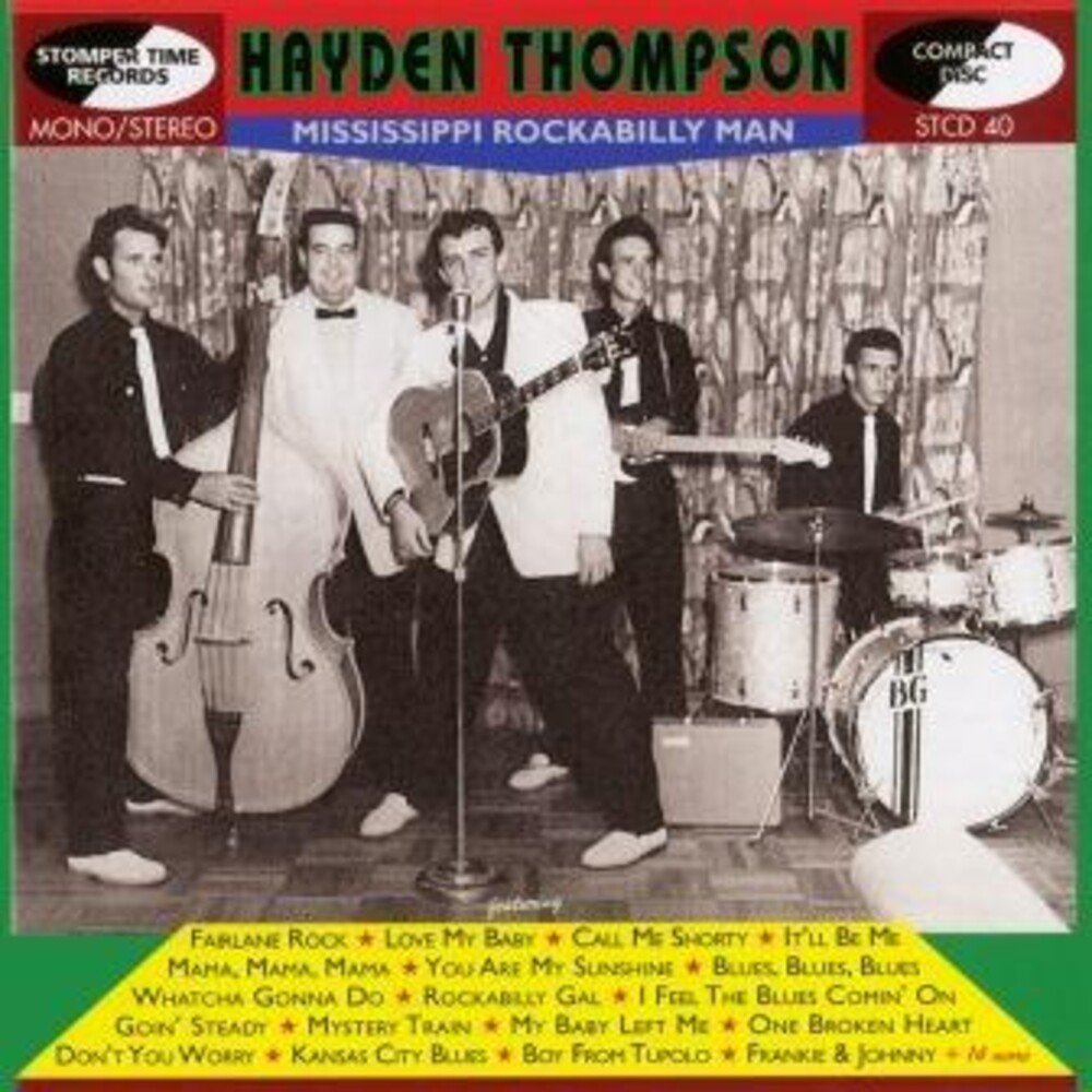 Hayden Thompson - Mississippi Rockabilly Man
