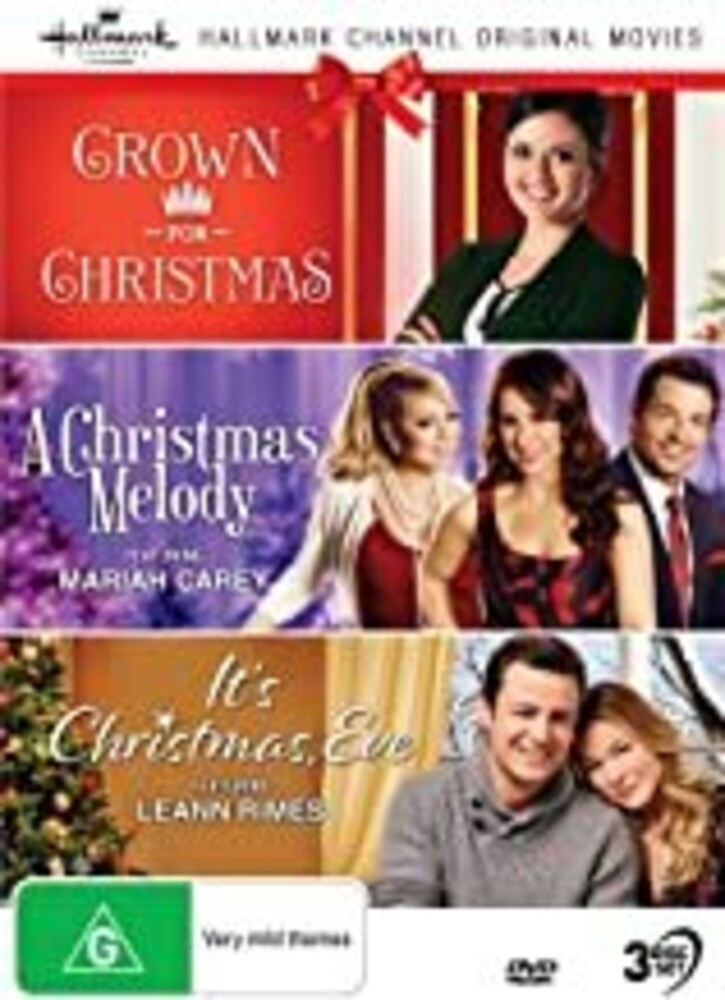 Hallmark Xmas 8: Crown for / Xmas Melody / It's - Hallmark Xmas 8: Crown For Christmas / Christmas Melody / It's Christmas Eve [NTSC/0]