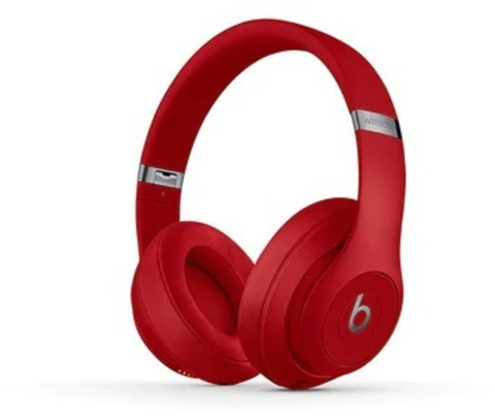 Beats Studio3 Bt Over-Ear Headphones Nc Red - Beats Studio3 Bluetooth Wireless Over-Ear Headphones Active NoiseCanceling (Red)