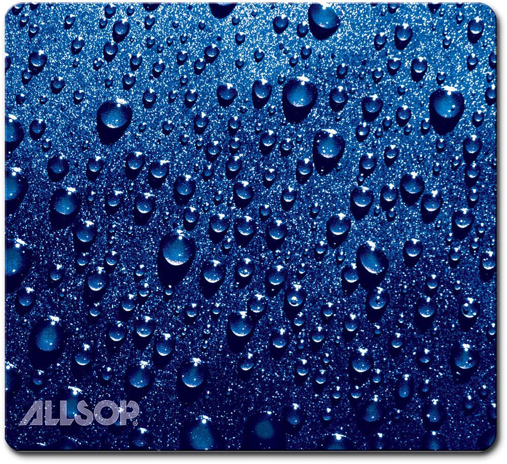Allsop 30182 Naturesmart Mouse Pad Raindrop Blue - Allsop 30182 Naturesmart Mouse Pad Soft Top Raindrop (Blue)