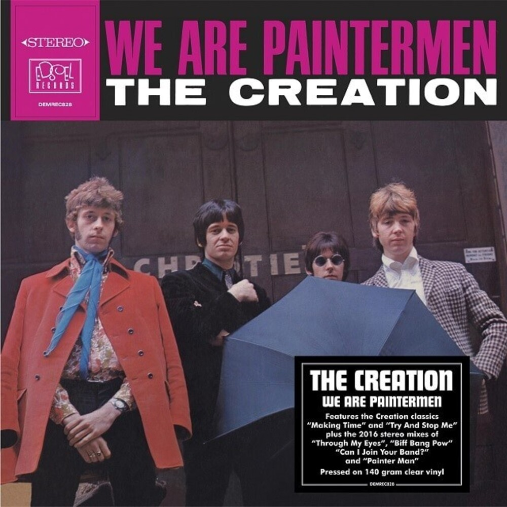 Creation - We Are Paintermen [Clear Vinyl] (Ofgv) (Uk)