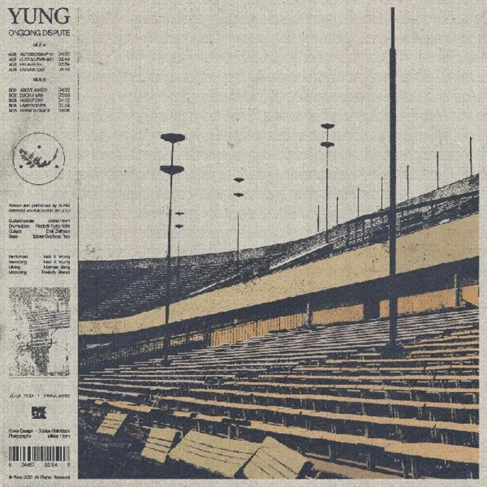 Yung - Ongoing Dispute [Clear Vinyl] [Indie Exclusive]