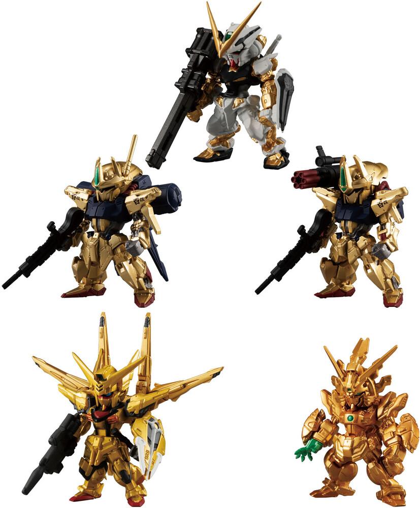 - Shokugan - Mobile Suit Gundam - FW Gundam Converge Gold Edition (Boxof 8), Bandai Converge