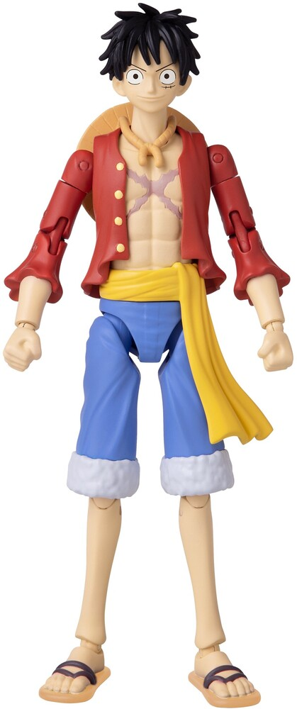 Anime Heroes - Bandai America - Anime Heroes: One Piece, Monkey D. Luffy