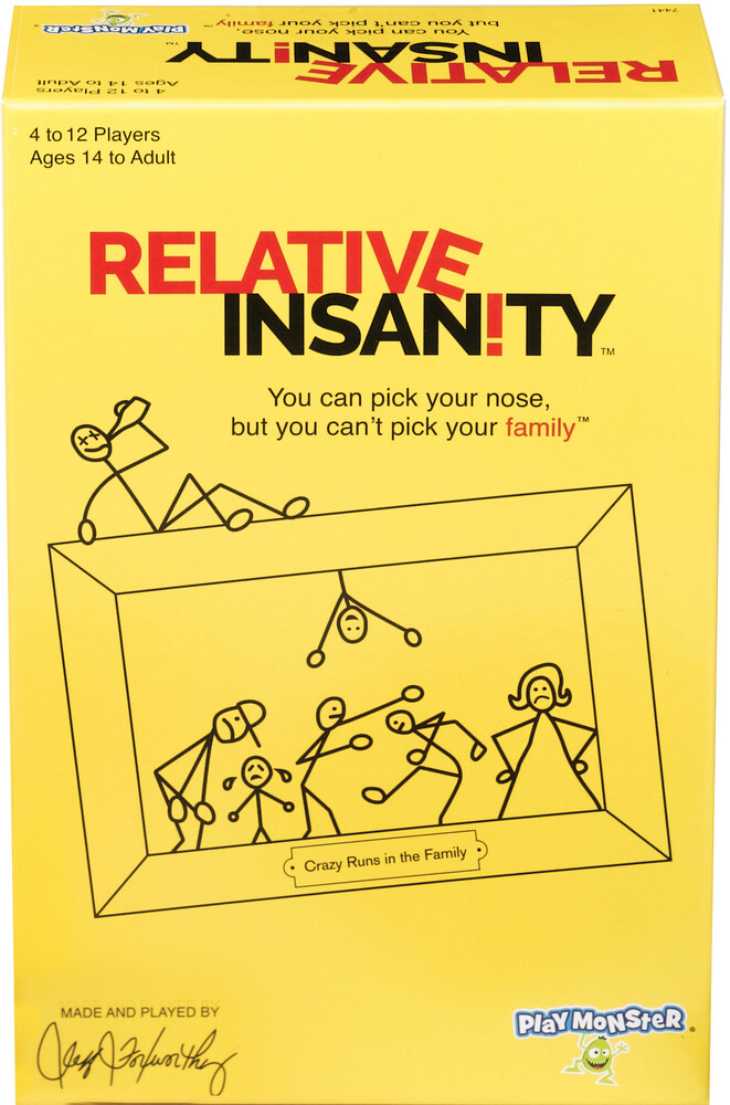 Relative Insanity Crazy Runs in Family - Relative Insanity Crazy Runs In Family