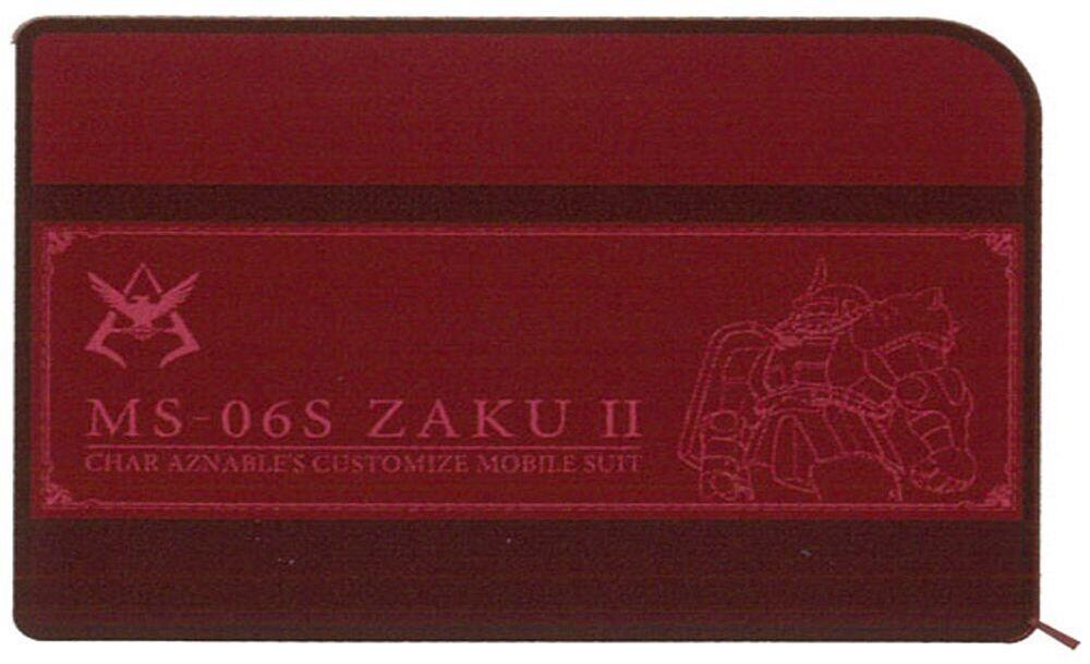Sun Star - Gundam - Multi Pen Case Wide Stationary 7 Char'S Zaku II