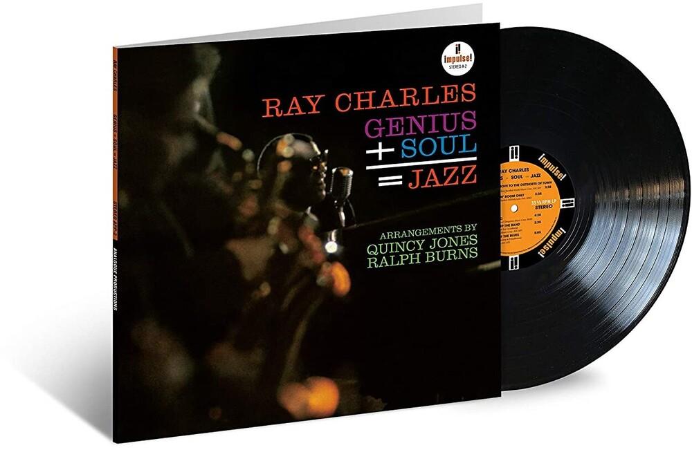 Ray Charles - Genius + Soul = Jazz (Verve Acoustic Sounds Series) [LP]