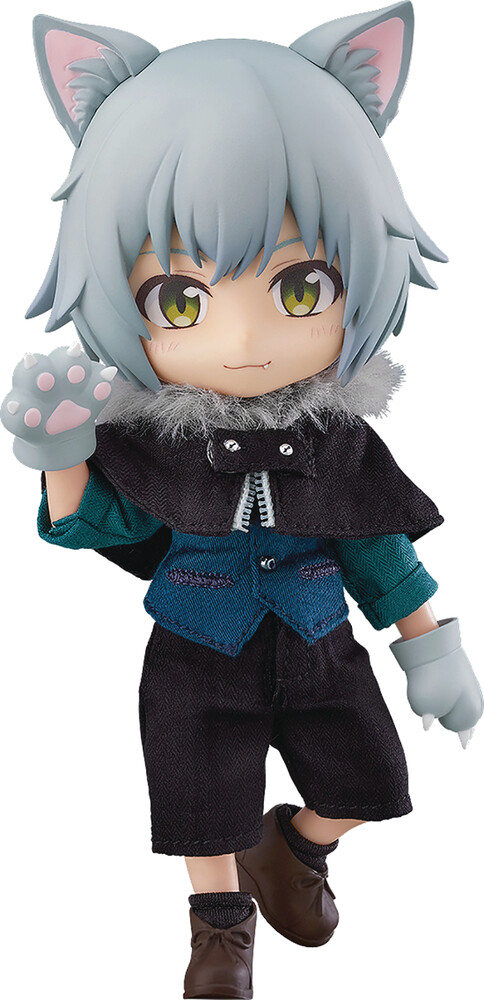 Good Smile Company - Good Smile Company - Nendoroid Doll Little Red Riding Hood Wolf AshAction Figure