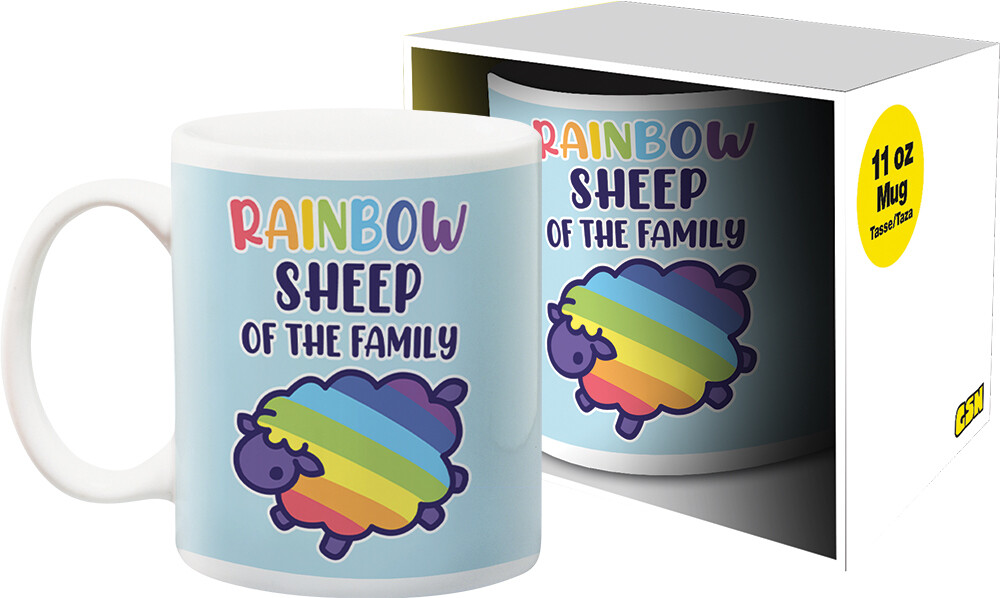 Pride Rainbow Sheep 11Oz Boxed Mug - Pride Rainbow Sheep 11oz Boxed Mug