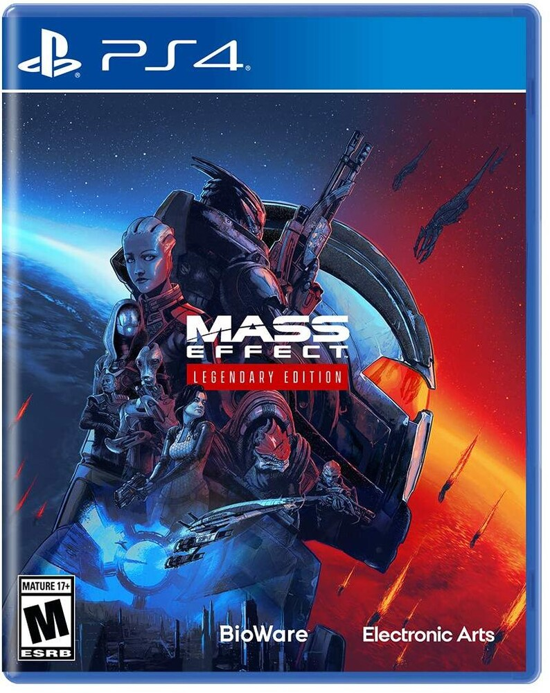 Ps4 Mass Effect Legendary Edition - Mass Effect Legendary Edition for PlayStation 4