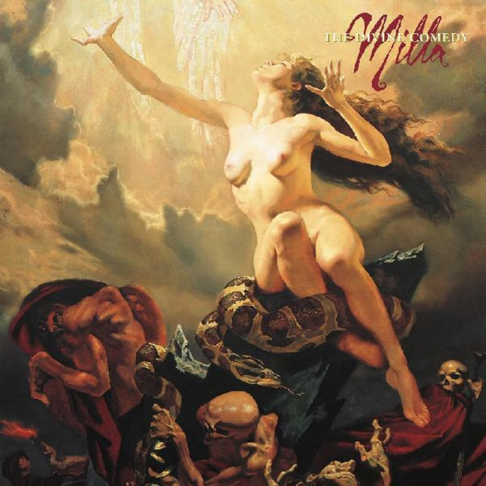 Milla Jovovich - Divine Comedy [Colored Vinyl] (Red) [Indie Exclusive]