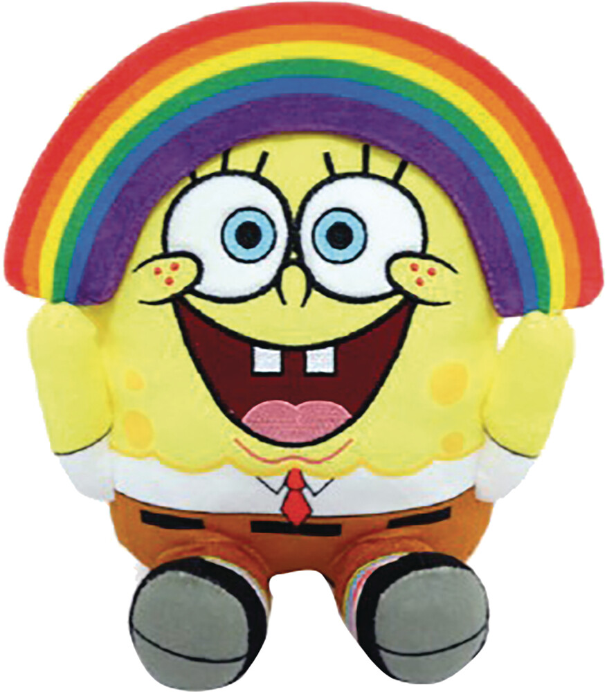- Phunny Spongebob Squarepants Rainbow 8in Plush