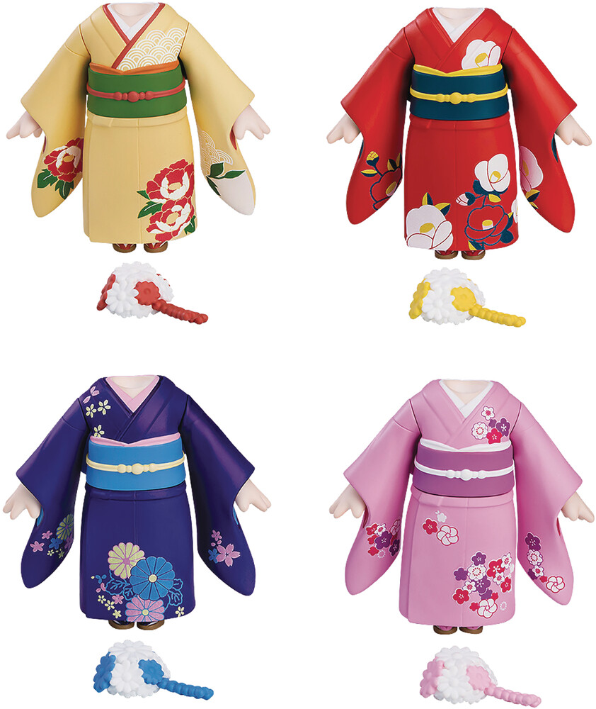 - Nendoroid More Dress Up Coming Of Age Furisode 4pc
