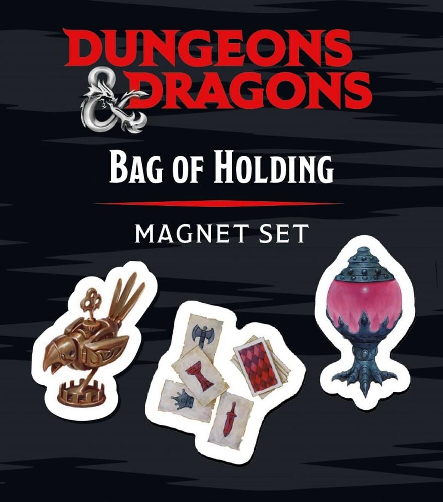 Dinon, Brenna - Dungeons & Dragons Bag Of Holding Magnet Set (Box)