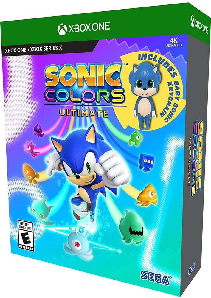 Xb1/Xbx Sonic Colors Ultimate - Launch Ed - Sonic Colors Ultimate: Launch Edition for Xbox One and Xbox Series X