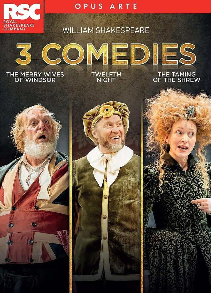 - 3 Comedies / Various (3pc) / (3pk)