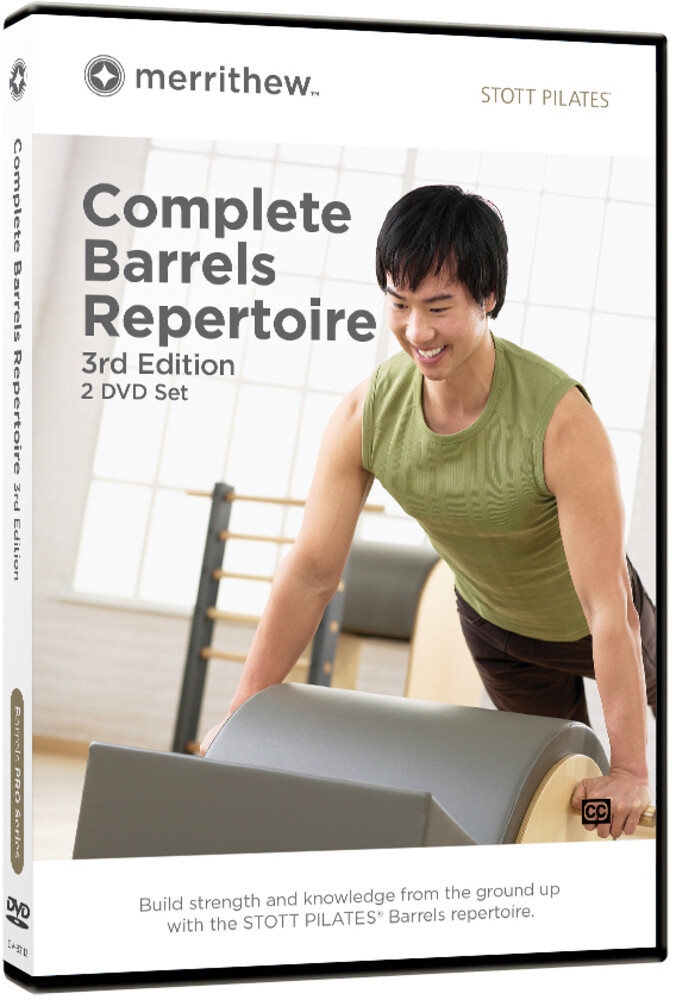 - Stott Pilates Complete Barrels Rep 3rd Ed 2dvd Set
