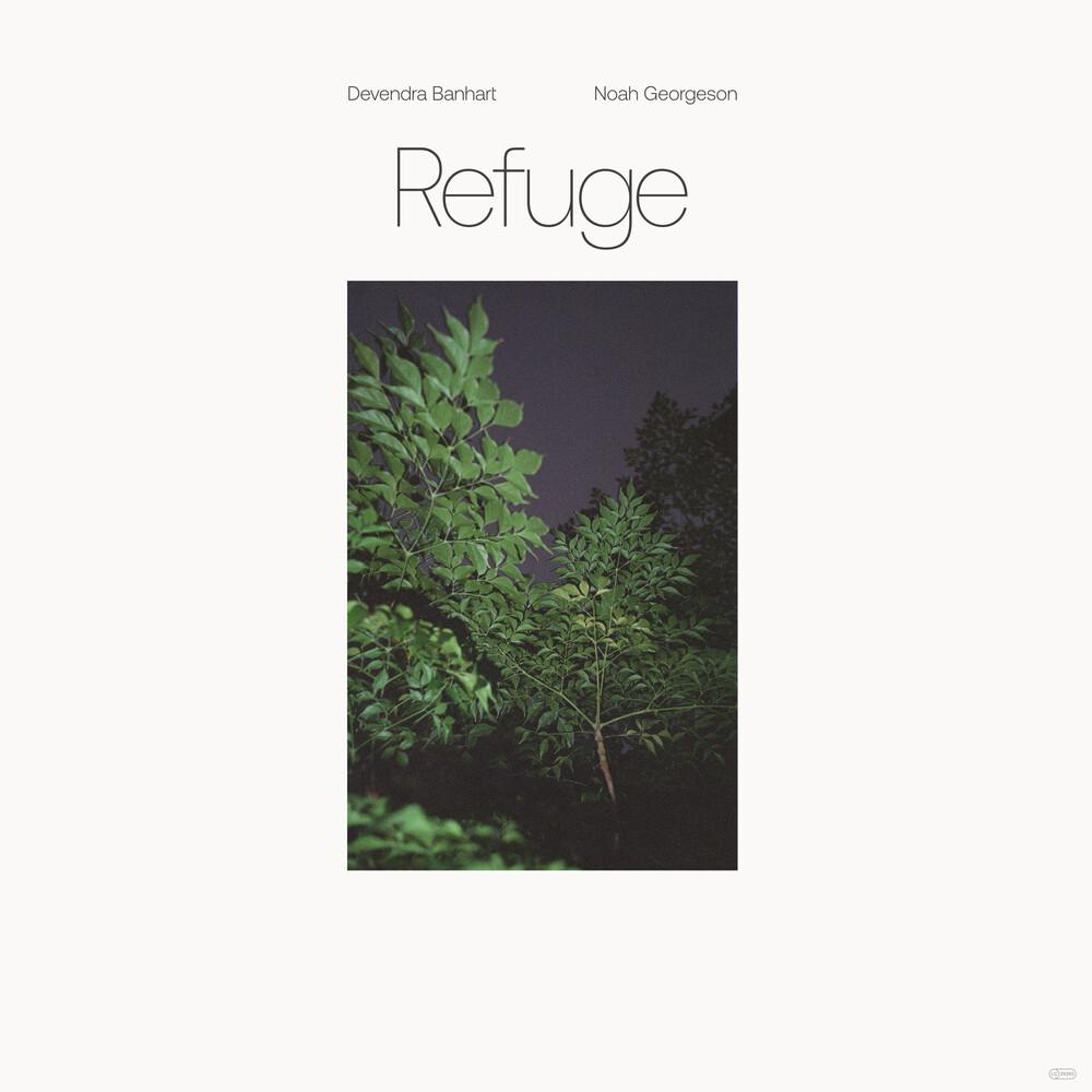 Devendra Banhart  / Georgeson,Noah - Refuge (Blue Seaglass Wave Translucent Vinyl)