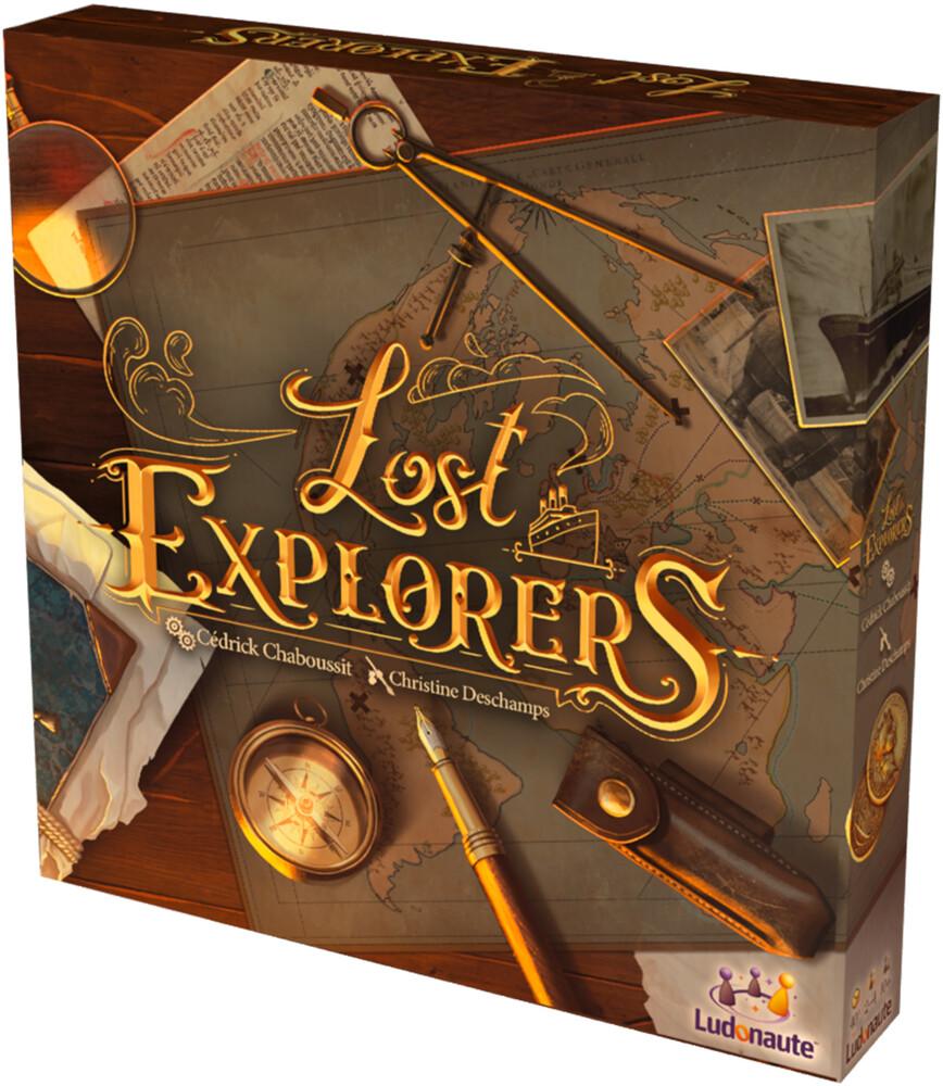 - Lost Explorers Cedrick Chaboussit Chris Deschamps