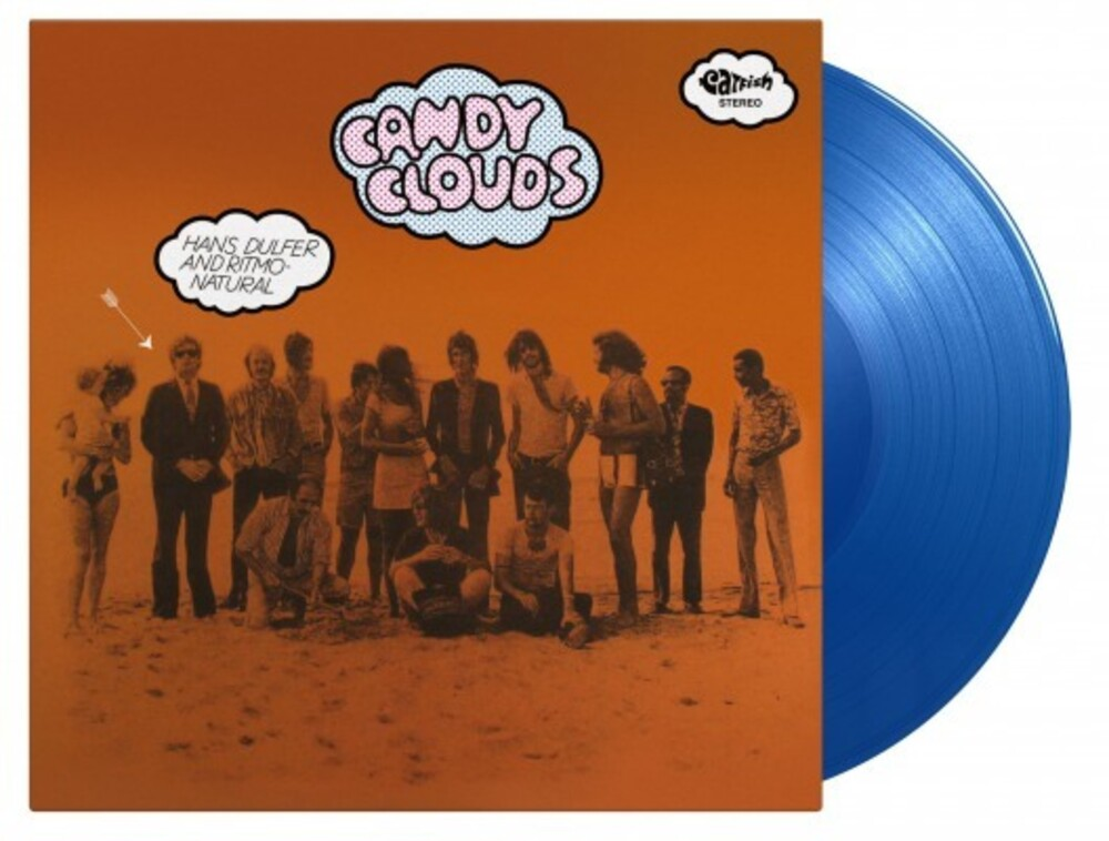 Hans Dulfer  & Ritmo Naturel - Candy Clouds (Blue) [Colored Vinyl] [Limited Edition] [180 Gram] (Hol)
