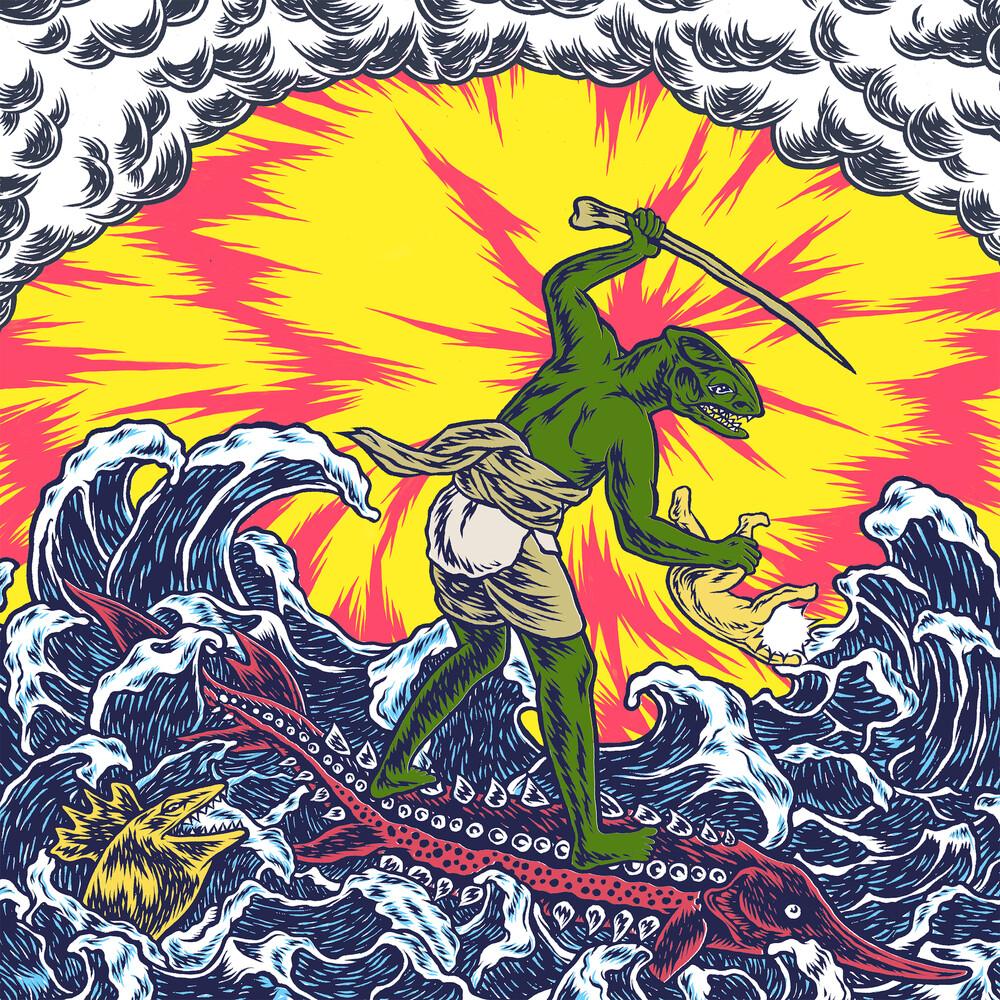 King Gizzard & The Lizard Wizard - Teenage Gizzard [Blue LP]