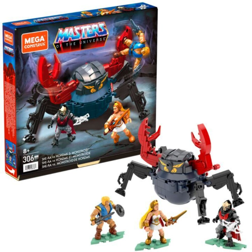 Mega Brands Masters of the Universe - Motu Hordak Strikes (Fig) (Brik)