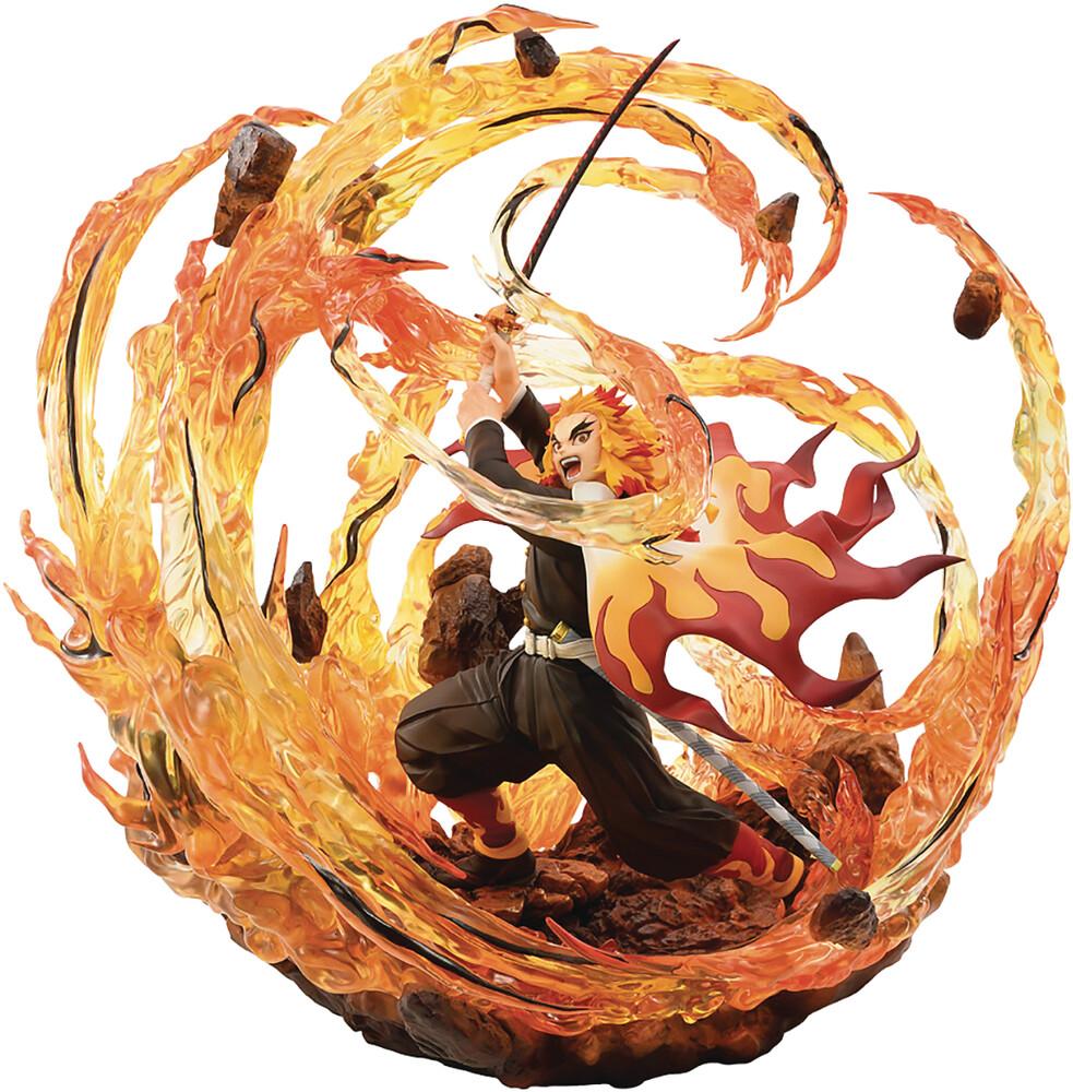 Bellfine - Demon Slayer Kimetsu Kyojuro Rengoku 1/8 Pvc Fig D