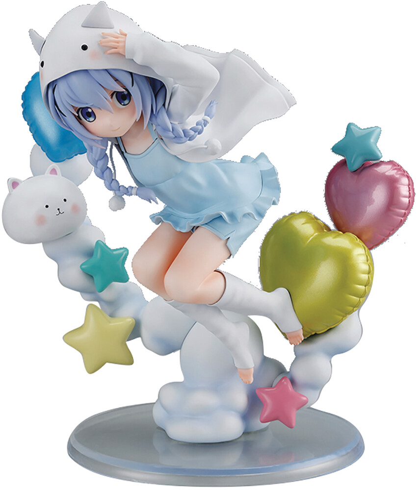 Sol International - Is The Order A Rabbit Bloom Chino Tippy Hoodie 1/6