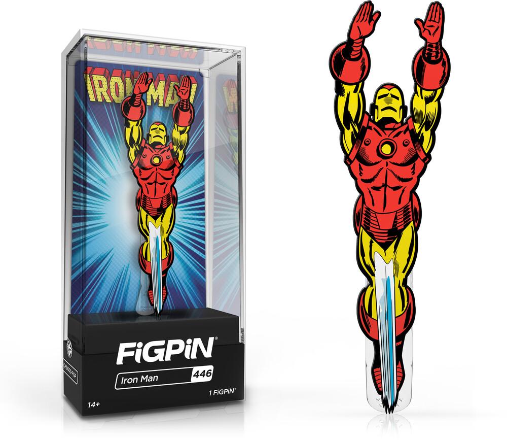 Figpin Marvel Classic Iron Man #446 - Figpin Marvel Classic Iron Man #446 (Clcb) [Limited Edition]