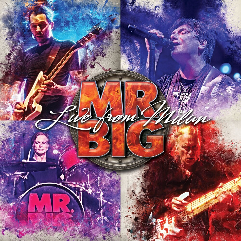 Mr. Big - Live From Milan [2CD+Blu-ray]