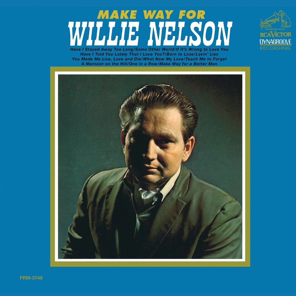 Willie Nelson - Make Way For Willie [Audiophile Translucent Gold & Blue Swirl Limited Anniversary Edition LP]