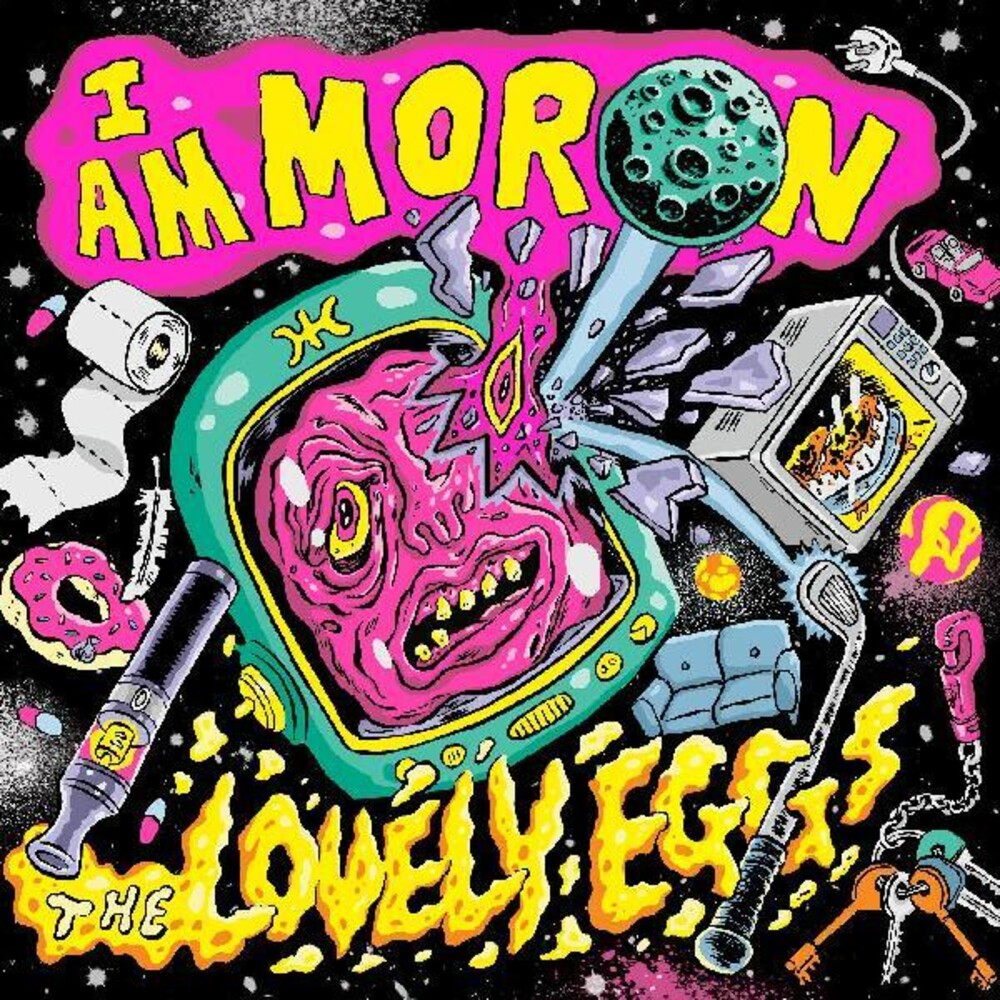 Lovely Eggs - I Am Moron (Colv) (Gate) (Ylw)