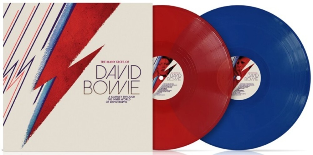 Many Faces Of David Bowie / Various - Many Faces Of David Bowie / Various (Blue) (Gate)