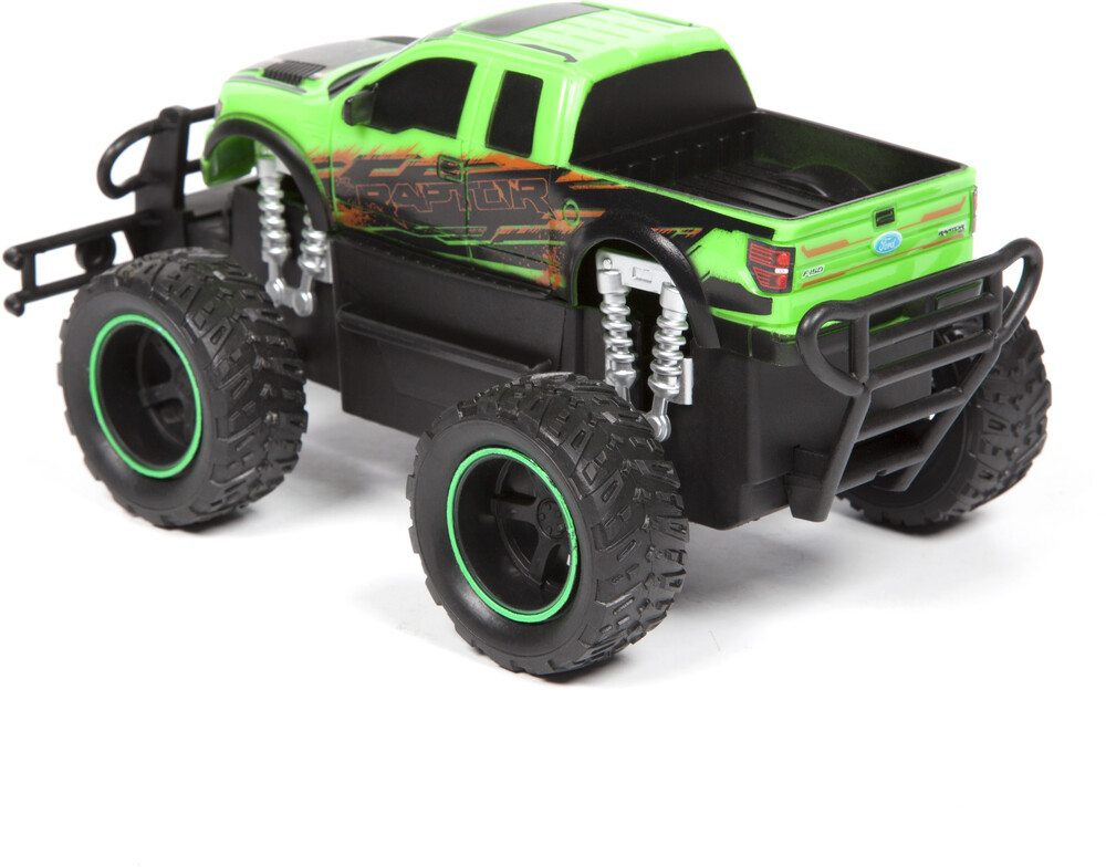 Friction Vehicles - 1:24 Ford F-150 SVT Raptor Friction Truck (One random color per transaction. Colors green, blue or red.)