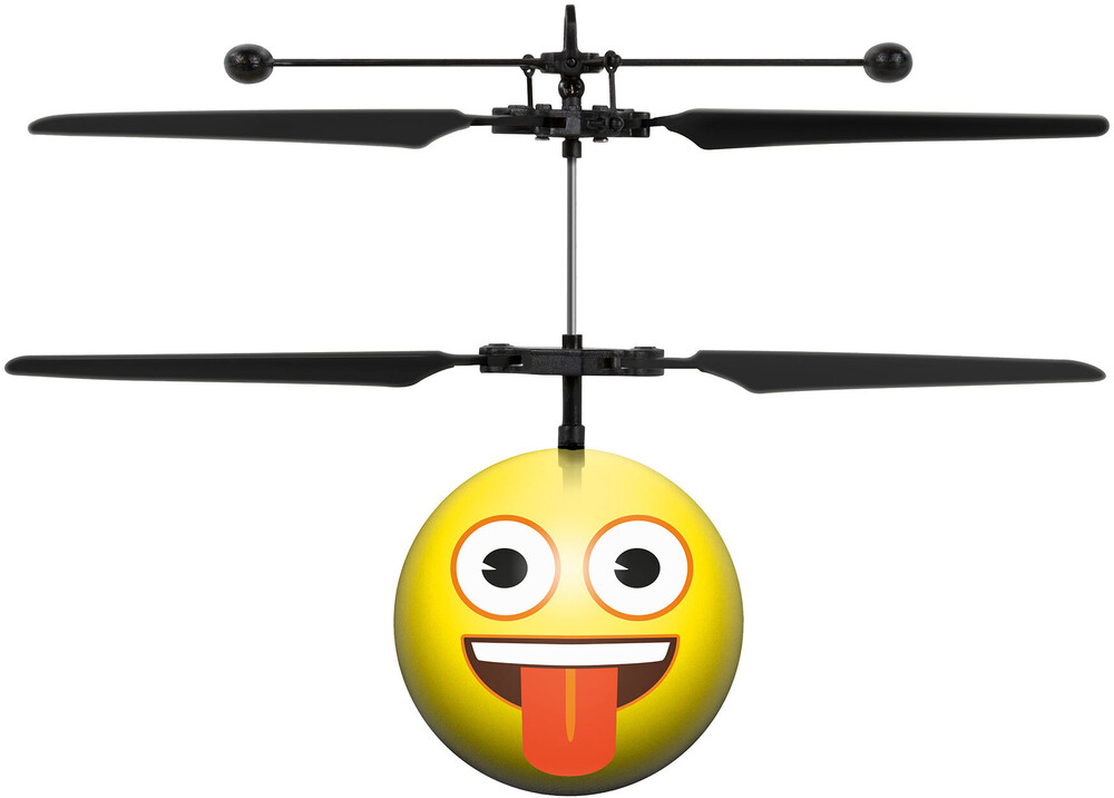 Ufo Ball Helicopter - Crazy Face Emoji IR UFO Ball Helicopter