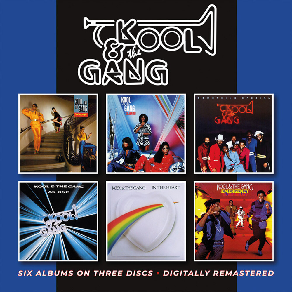 Kool & The Gang - Ladies Night / Celebrate / Something Special / As