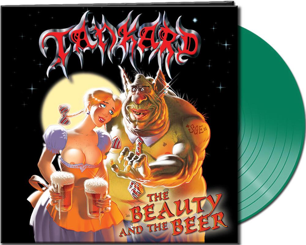 Tankard - Beauty & The Beer (Clear Green Vinyl) [Clear Vinyl] (Grn)