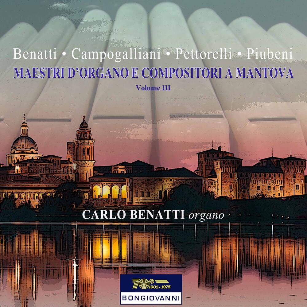 Carlo Benatti - Maestri D'organo 3 / Various