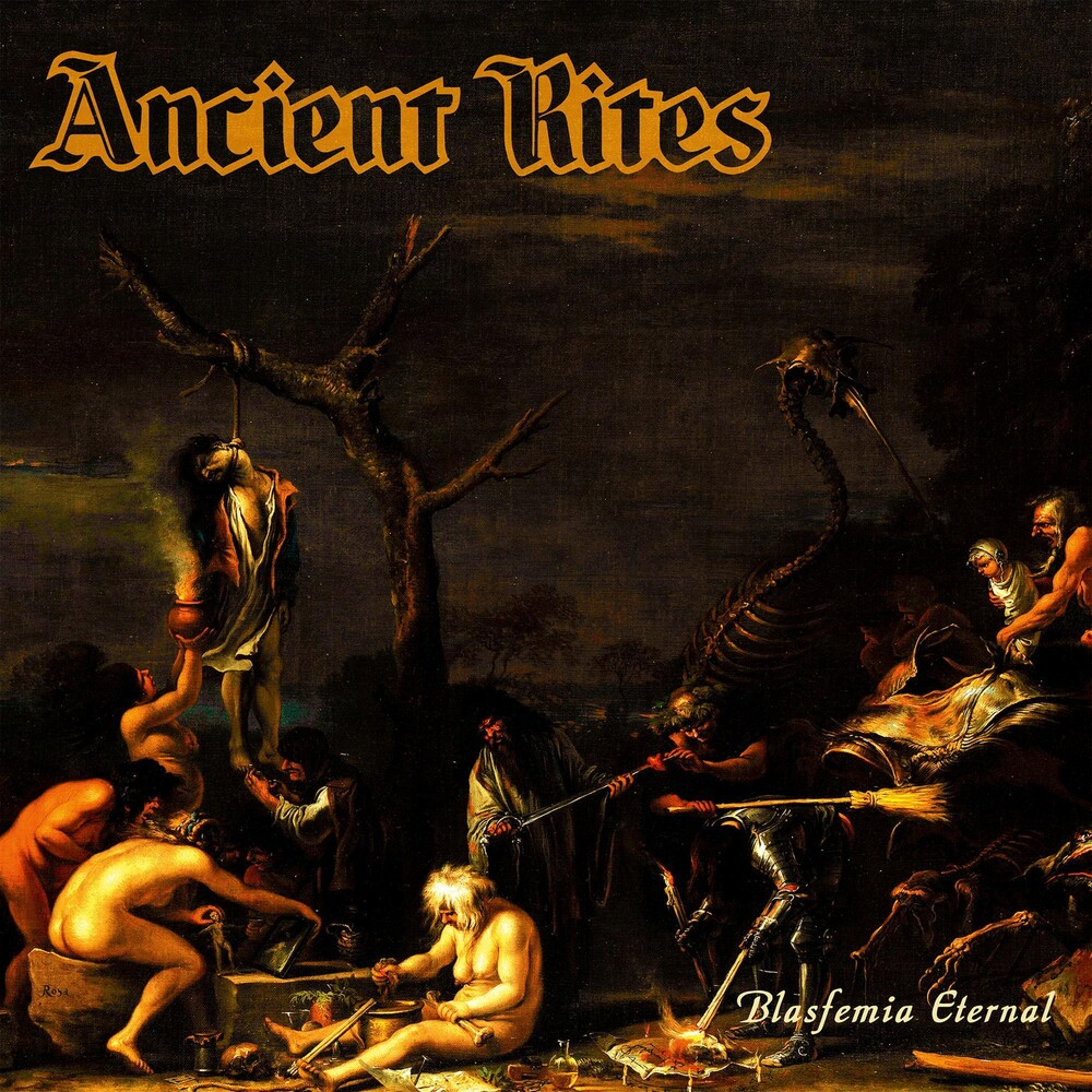 Ancient Rites - Blasfemia Eternal [Limited Edition Transparent Orange LP]