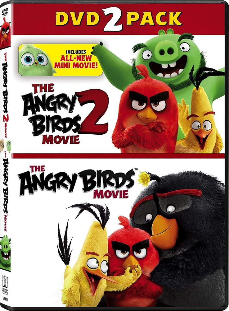 Angry Birds Movie 2 / Angry Birds Movie - Angry Birds Movie 2 / Angry Birds Movie (2pc)
