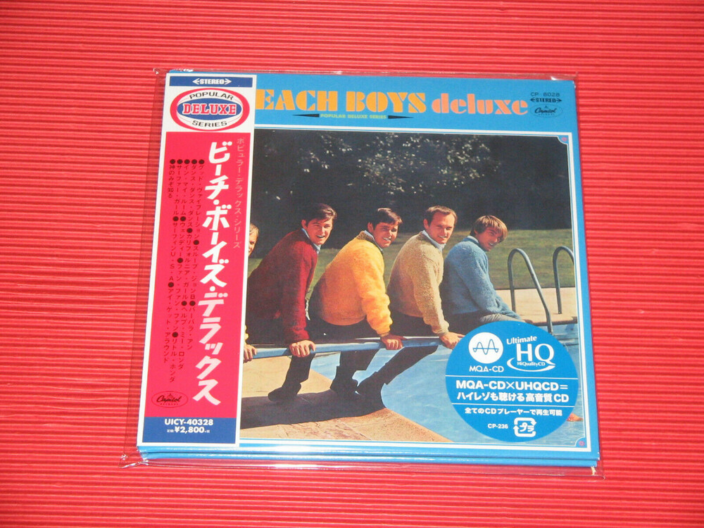 Beach Boys - Beach Boys Deluxe (Jmlp) [Limited Edition] (24bt) (Hqcd) (Jpn)