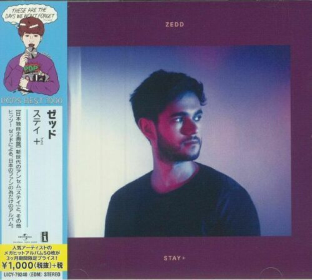 Zedd - Stay + [Limited Edition] [Reissue] (Jpn)