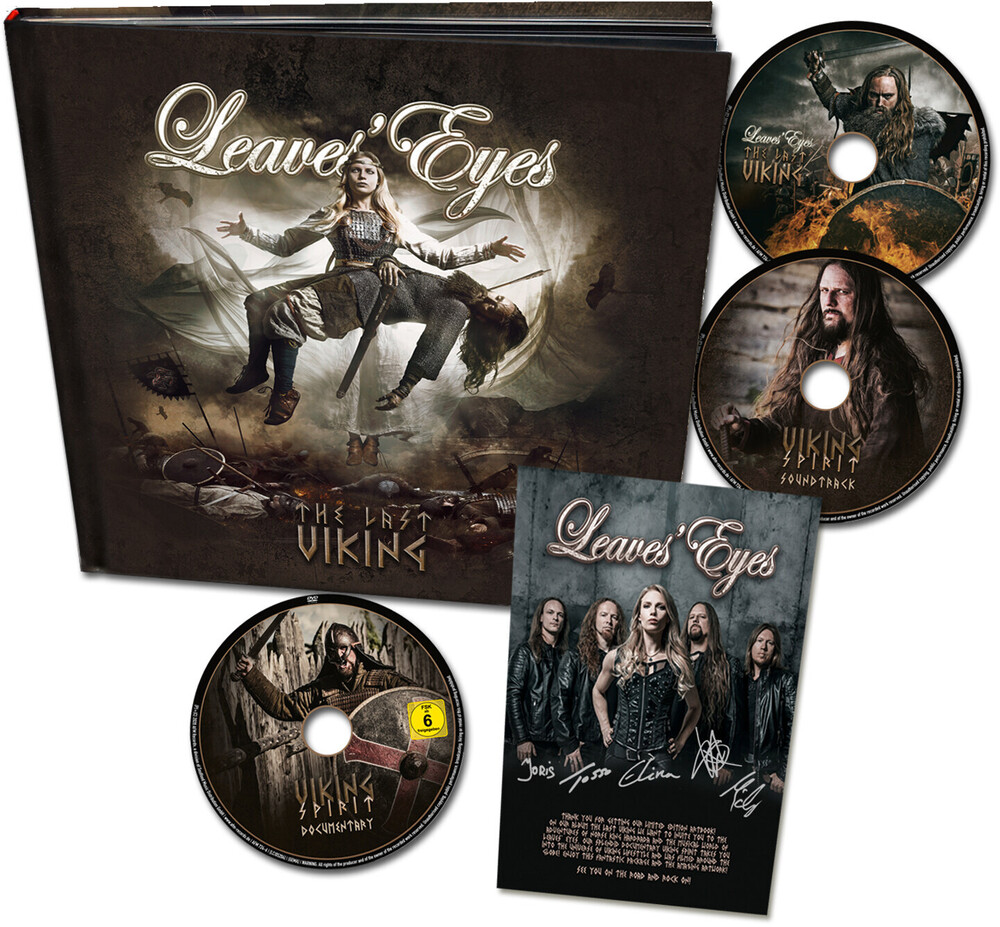 Leaves Eyes - The Last Viking (Hardcover Artbook (2CD+DVD))