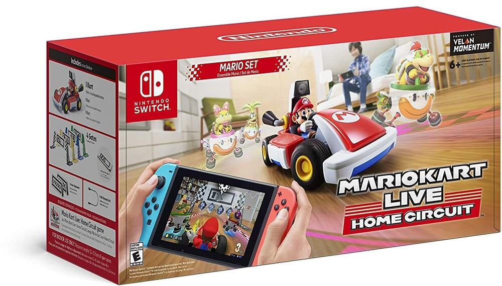 Swi Mario Kart Live: Home Circuit- Mario Set - Swi Mario Kart Live: Home Circuit- Mario Set