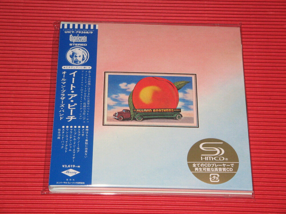 The Allman Brothers Band - Eat A Peach (Deluxe Edition) (SHM-CD) (Paper Sleeve)
