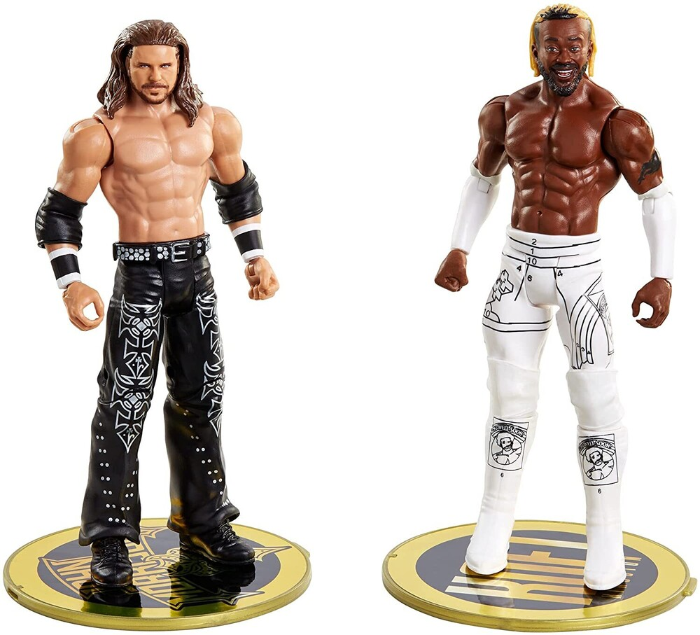 WWE - Mattel Collectible - WWE Basic Figure 2-Pack John Morrison vs. Kofi Kingston