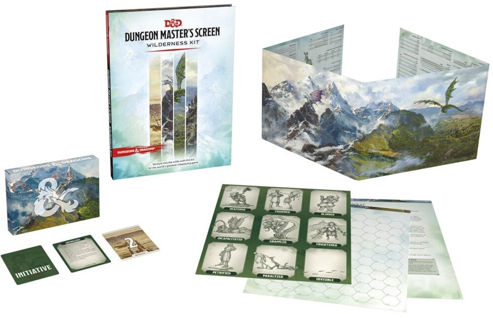 Wizards Rpg Team - Dungeons & Dragons Dungeon Master's Screen Wilderness Kit (Dungeons &Dragons, D&D)