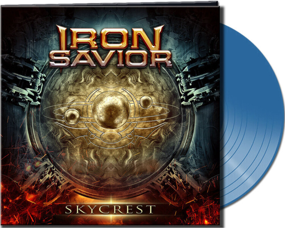 Iron Savior - Skycrest (Clear Blue Vinyl) (Blue) (Cvnl) (Gate)
